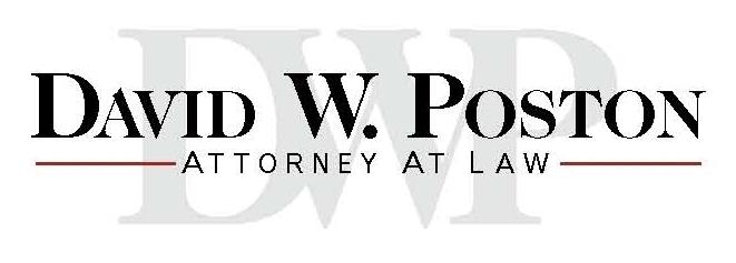 David W. Poston Attorney At Law Logo